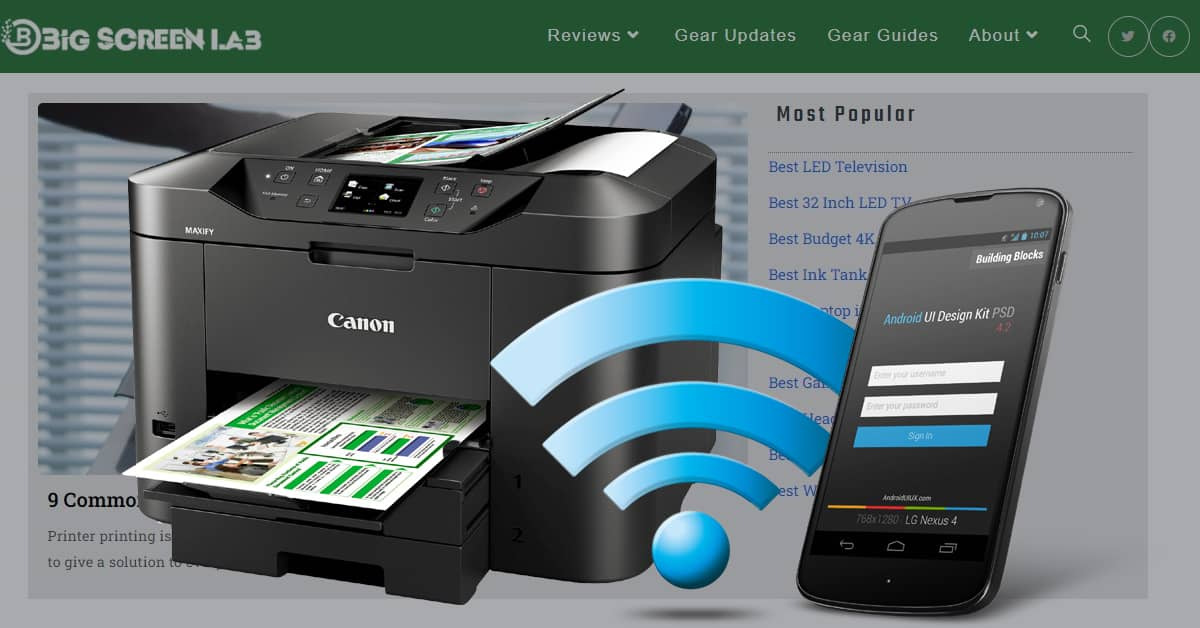 Read more about the article How To Print From Phone & Tablet To A Wired And Wireless Printer